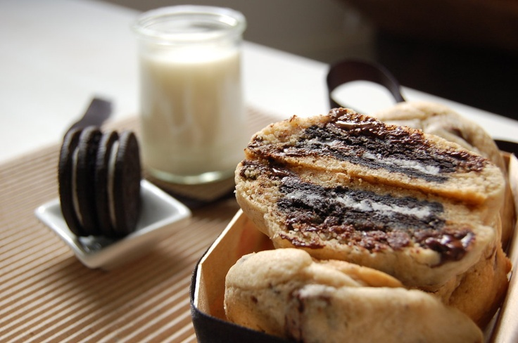 Oreo Stuffed cookie by Facebook Fan Anne B. Try making them yourself with this recipe: http://oreo.ly/tZMwGf