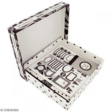 Kit Smash Book Black and White - Fotografía n°2