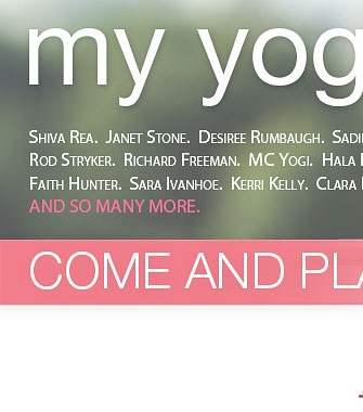 Yoga Videos, Yoga Classes, Video Downloads - My Yoga Online - from the comfort of your own home!
