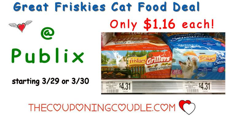 Cheap Friskies Dry Cat Food @ Publix starting 3/29 or 3/30. Check out this great upcoming deal for our kitties next week. Good stock up price!  Click the link below to get all of the details ► http://www.thecouponingcouple.com/cheap-friskies-dry-cat-food-publix-starting-210/ #Coupons #Couponing #CouponCommunity  Visit us at http://www.thecouponingcouple.com for more great posts!