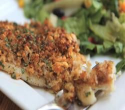 Baked Parmesan Tilapia made this tonight.really good. Used plain Old Bay not blackened and added red pepper flakes.