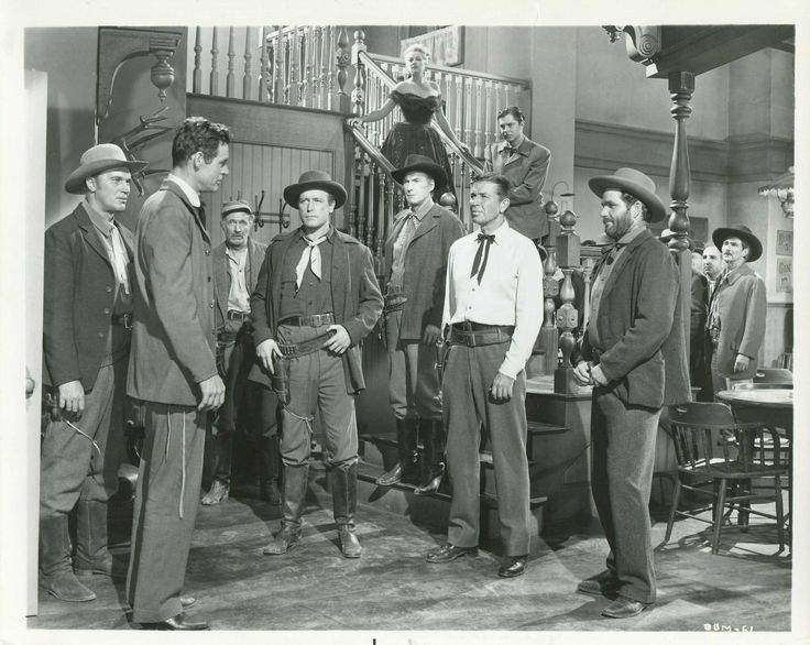 Robert Ryan and Lawrence Tierney, Best of the Badmen (1951)