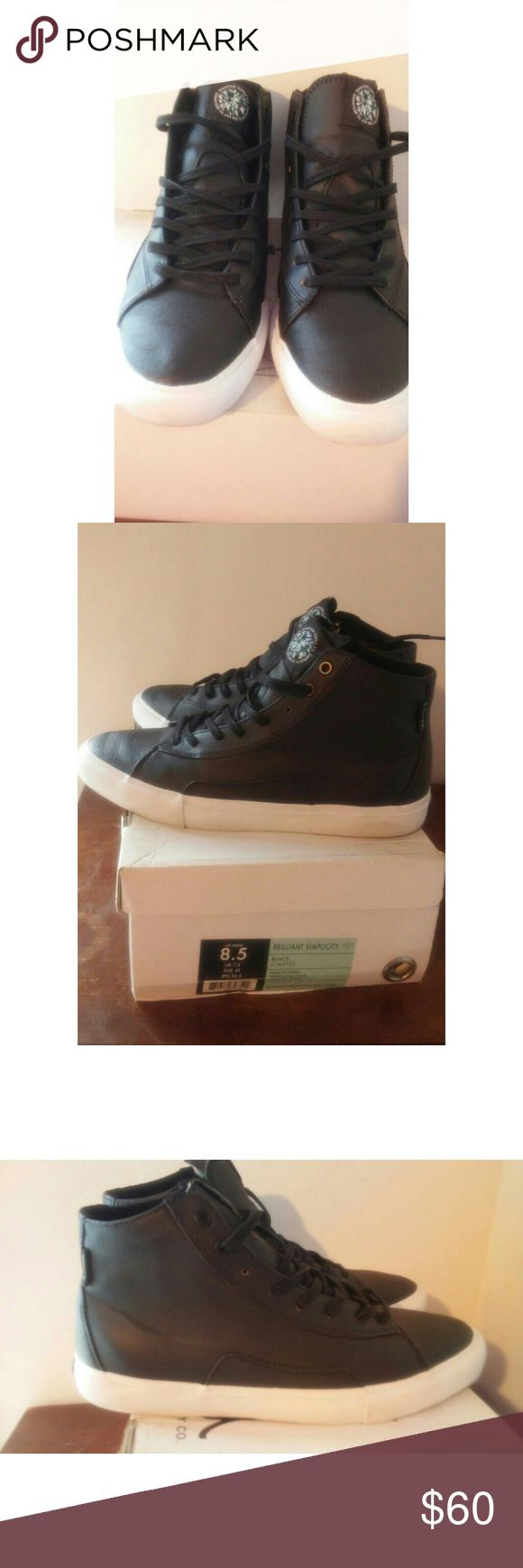 DIAMOND SUPPLY CO. Brilliant Simplicity BLK DIAMOND SUPPLY CO. Brilliant Simplicity BLK high top shoes. Used once/ no scuffs or marks. Like brand new. Men's size 8.5/ Women's size 10.5. In original box. Any ?s please ask. Diamond Supply Co. Shoes Sneakers