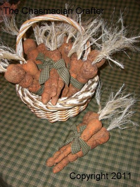 Primitive Carrots E Pattern.....Instant by TheChasmacianCrafter, $5.00