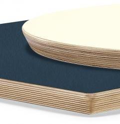Bordsskiva i laminat BMI - Laminattopp, trälist - Bordsskivor - Bord - Svea Contract Furniture