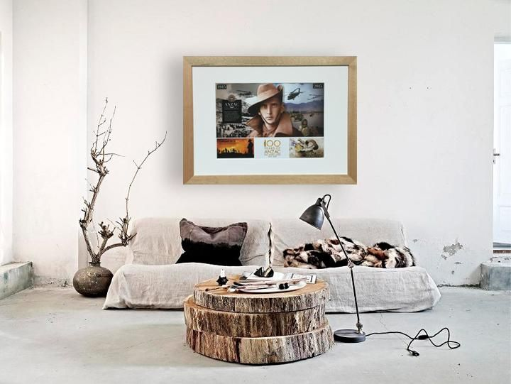 Lest we forget. 100 Years of ANZAC  :: Framed in Profile Products' POSTER SIZE A3 Matte Tasmanian Oak Timber Frame  #modern #room #interior #profileproducts #gifts #australia #sydneylocals #inspiration #pinterests #getthelook #decor #decoration #home #decorating #diy #handmade #photoframes #anzac2015 #anzac