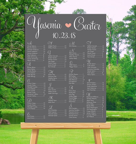 Best 25+ Seating chart wedding template ideas on Pinterest - free wedding seating chart templates