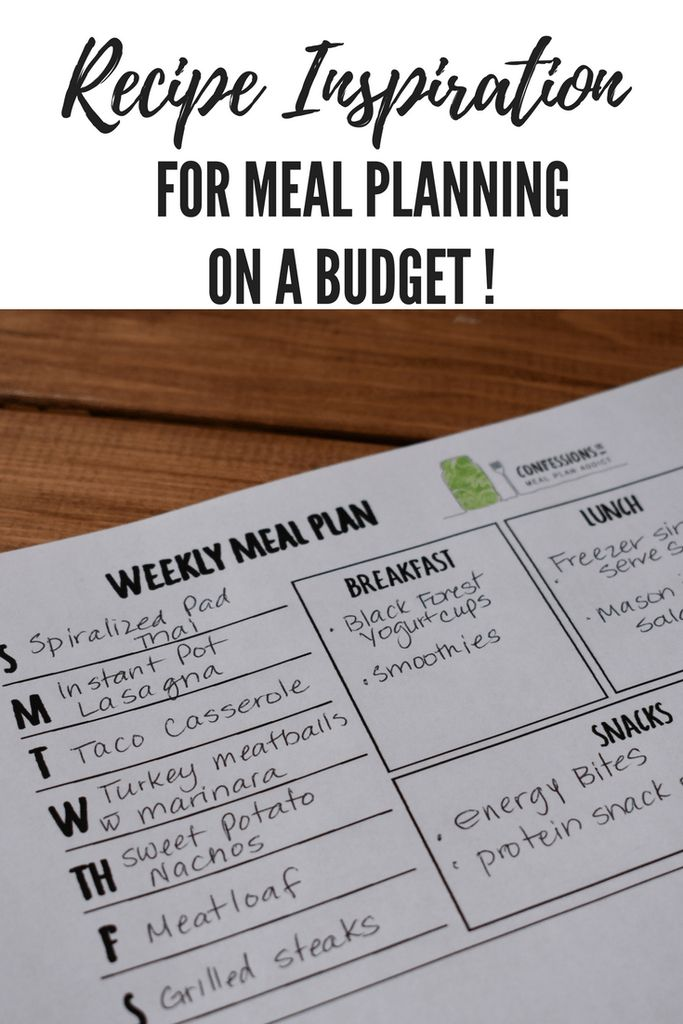 Best Meal Planning Tips And Tutorials Images On