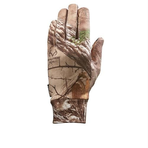 Seirus Soundtouch Dynamax Glove Liner Camo Realtree Xtra SM/MD
