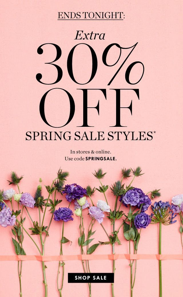 JCrew - Spring Sale: