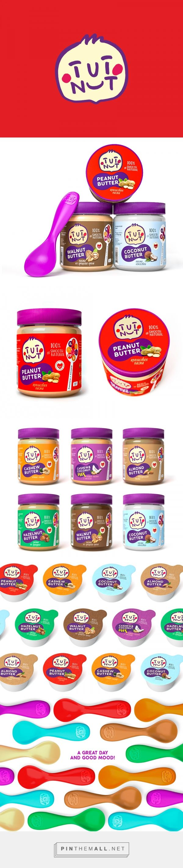 Tut Nut on Packaging of the World - Creative Package Design Gallery - created via https://pinthemall.net