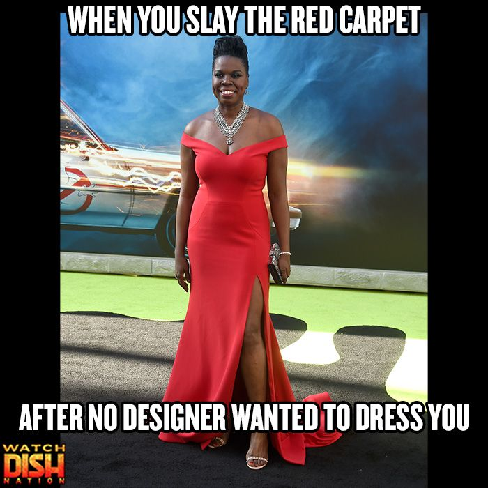 After claiming she was shunned by multiple fashion designers, Leslie Jones beamed in a Christian Siriano gown at the Ghostbusters premiere.