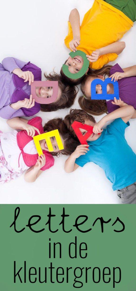 Letters in de kleutergroep + spelidee (Spring!)