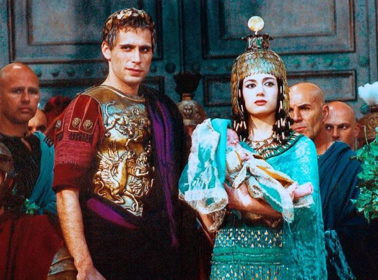 Jeremy Sisto & Samuela Sardo as Cleopatra in Caesar (TV 2002)