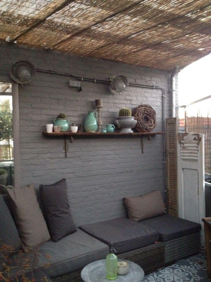 Dakterras met patio
