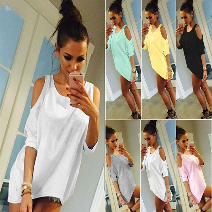 Womens Off Shoulder Mini Shirt Dress http://frizbuy.com/products/womens-off-shoulder-loose-casual-t-shirt-long-tee-tops-blouse-ladies-cold-shoulder-sleeve-mini-dress?utm_campaign=crowdfire&utm_content=crowdfire&utm_medium=social&utm_source=pinterest  #sergioramos #jewellery #earrings #goldenbeauty #indiantraditionalwear #lovelydesign #suicidegirls #suicidegirlshopeful #sg #sghopeful #hopeful #alternative #alternativemodel #ink #inked #inkedgirls #awesome #wonderful #body #linda #snep…