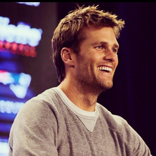 Brady smile!  Enough said...