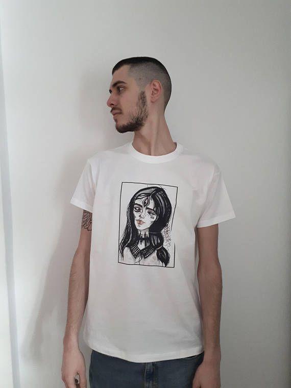 Three Eyes White T-shirt Dystopia