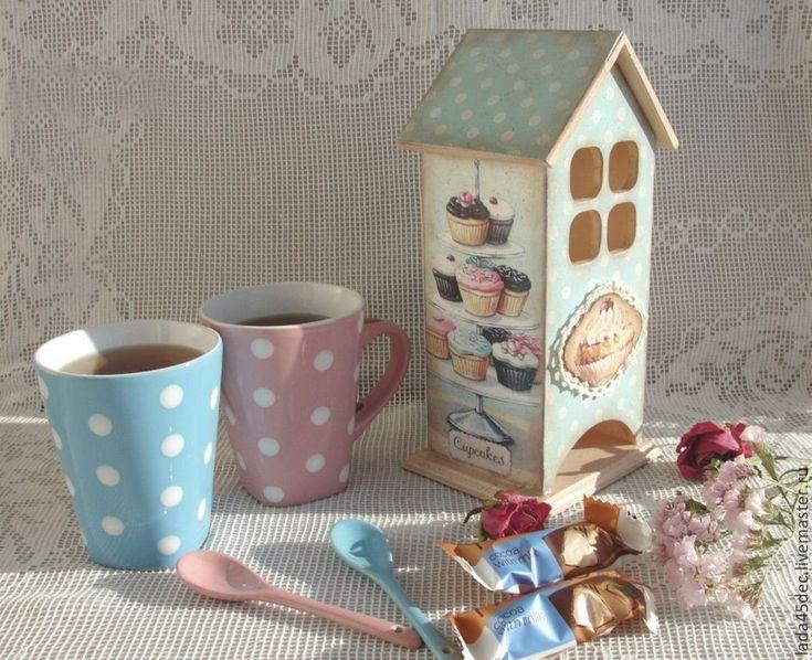 Чайный набор Сладкоежка – купить в интернет-магазине на Ярмарке Мастеров с доставкой