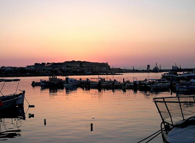 A summer sunset in Rethymno!