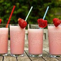 Gezonde Aardbeien Milkshake - Receptenbundel.nl
