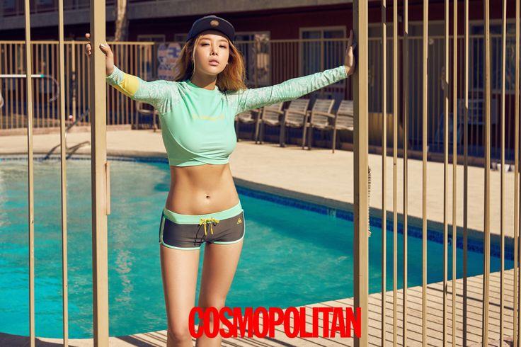 Yubin - Cosmopolitan Magazine May 2016