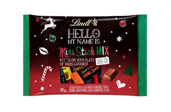 X-Mas Mini Stick Mix #christmas #chocolate