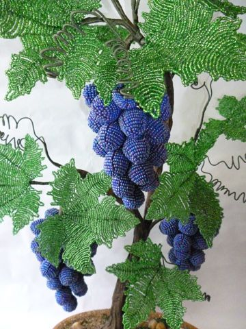 """Step 1 - Master Class """"Grapes from Beads"""" part 1"""