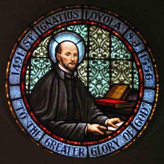 Santo Inácio de Loyola Janela, vídro