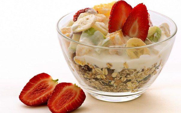 ДИЕТИЧЕСКИЕ ЗАВТРАКИ: 30 ВАРИАНТОВ    Сытный, но легкий диетический завтрак - залог энергии и хорошего настроения на весь день! Он позволит вам продержаться до ланча или обеда, не срываясь на вредные перекусы. Предлагаем 30 вариантов на каждый день - вы больше не будете ломать голову над тем, что приготовить на завтрак!    1. Два куска цельнозернового хлеба с двумя кружочками моцареллы, помидорами и свежей петрушкой или базиликом.    2. Овсянка с ягодами.  3. Овсянка с медом и орехами.  4…