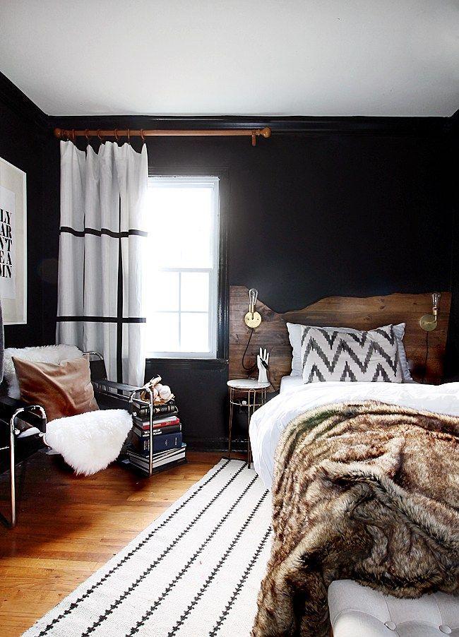 Schlafzimmer, Modern Rustikalen Schlafzimmer, Dunklen Schlafzimmer,  Männliche Schlafzimmer, Ideen Für Schlafzimmer, Zimmer Ideen, Im  Schlafzimmer, Rustikal ...
