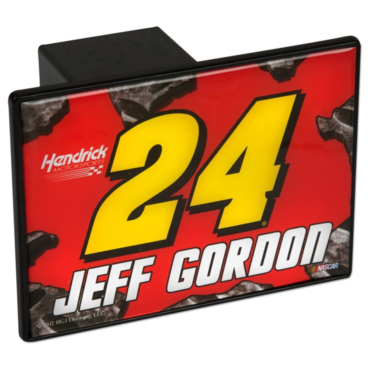 Purchase this Jeff Gordon #24 Trailer Hitch Cover at our Team Store.: Team Stores, Products Wishlist, Trailers Hitching, Gordon 24, Hitching Covers, 24 Trailers, Jeff Gordon