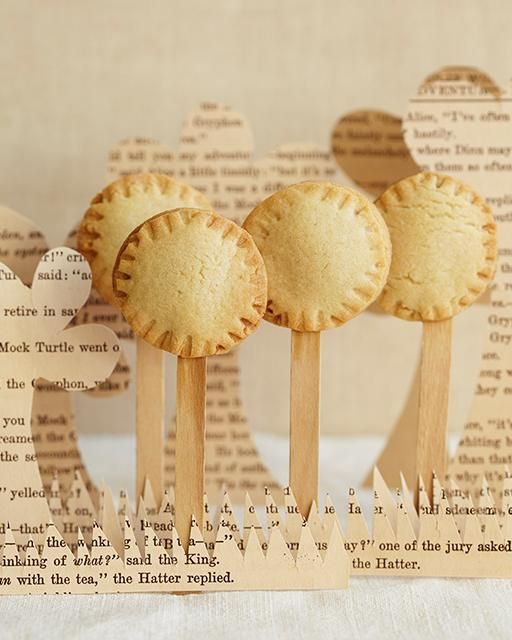 Cookie Pies with Strawberry Jam via Sweet Paul