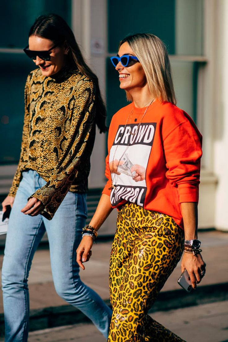 A Selection With The Best Of The Street Style Of The London Fashion Week