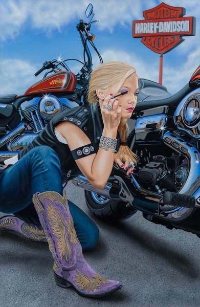 SCOTT JOBS ARTISTA HARLEY DAVIDSON 4 Scott Jacobs   O artista plástico oficial da marca Harley Davidson