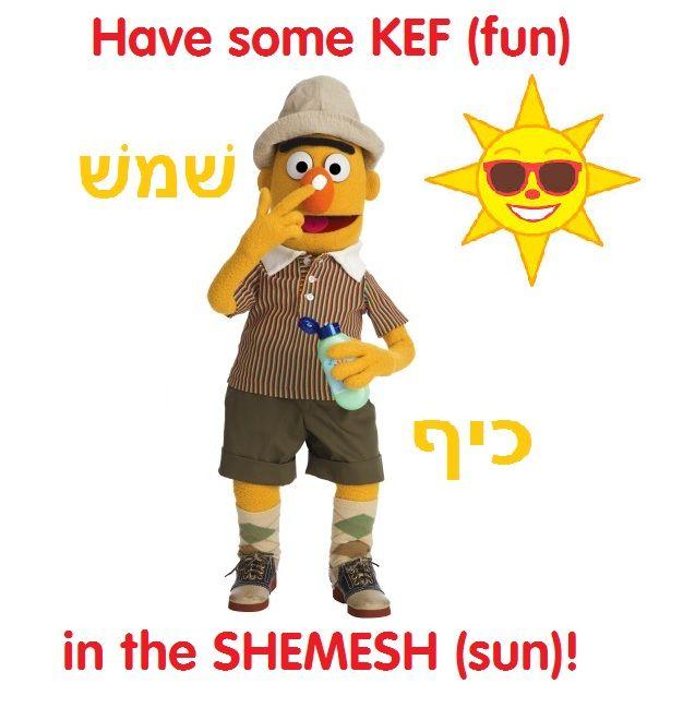 Have summer summer kef (fun)!
