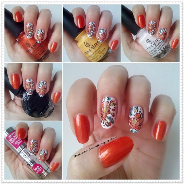 Unghiutze colorate-Happy nails: Nail Art Marathon-6.Leadlight