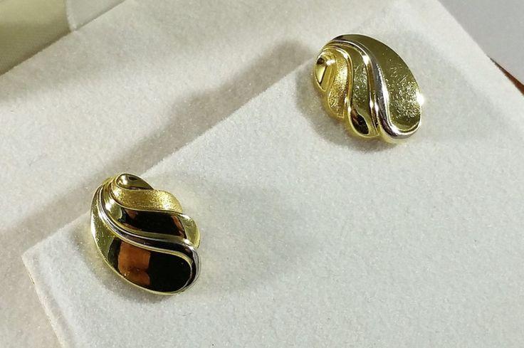 Ohrclips - Ohrringe Ohrclips Gold 333 Vintage elegant GR357 - ein Designerstück von Atelier-Regina bei DaWanda