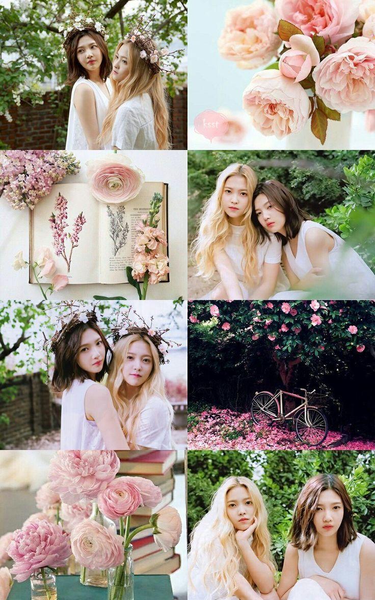#joyri #aesthetic #pink #rose #garden