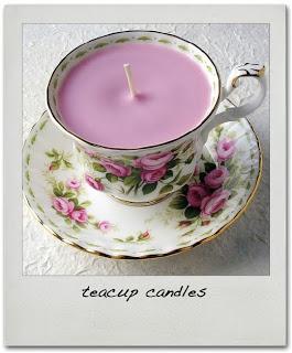 Theekop.: DIY: Kaarsen maken.