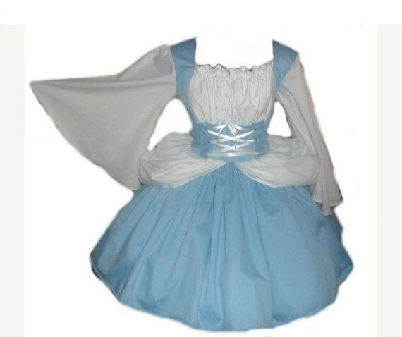 Halloween Costume Princess Sleeping Beauty Dress Blue White Womens Custom Size Plus Size Made to Measure High Quality Costume by MGDclothing on Etsy https://www.etsy.com/listing/105000448/halloween-costume-princess-sleeping