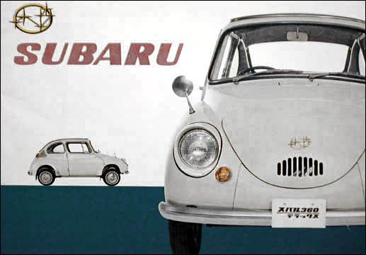 Check out this vintage Subaru! The staff at Maita Subaru likes seeing how far cars have come since the old Subies, which is your favorite?