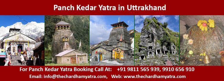 Panch Kedar Yatra Package 2017