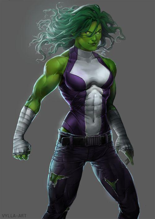 vylla-art, She-Hulk
