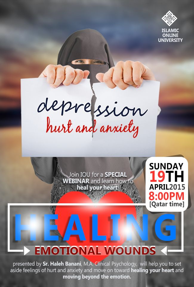 Join IOU for a SPECIAL WEBINAR and learn how to heal your heart!