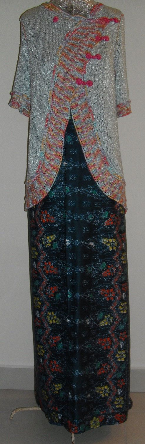 Peppermint Chinese Kebaya and Sarong on Etsy, $190.00