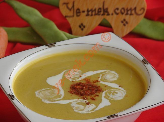 Taze Fasulye Çorbası Resimli Tarifi - Yemek Tarifleri