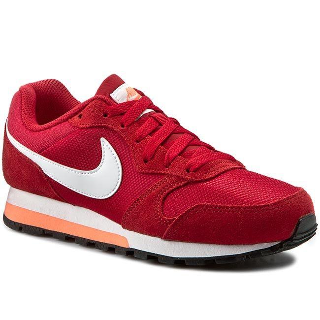 Pantofi NIKE - Md Runner 2 749869 618 Gym Red/White/Bright Mango