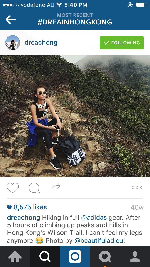 Hiking Wilson trail