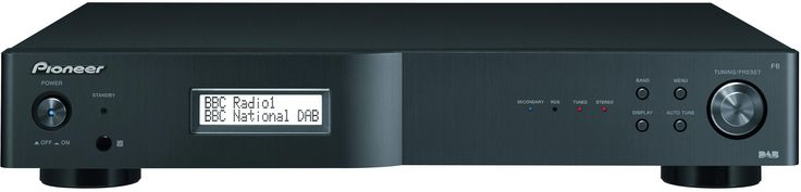 Pioneer F6-DAB Tuner. Stylish gun metal finish. Matching SACD and Integrated AMP available.